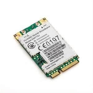 China Non - transparent IP protocol stack HSDPA 3.6 Mbps DL / 384 Kbps UL Mini 3G Module, ssd mini pcie wholesale