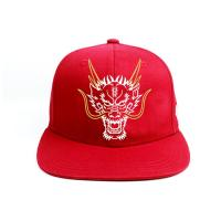 China Custom 6 Panel Snapback Hat / 3D Embroidery Logo Snapback Cap wholesale
