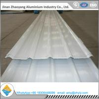 China Signal White PVDF Corrugated Aluminum Sheet wholesale