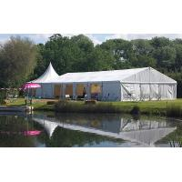 China 20m * 30m White Marquee European Style Custom Event Tents For Outdoor Party wholesale