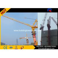 China Luffing Large Mobile Cranes , Luffing Jib Crawler Crane With VFD Split Mast Section wholesale