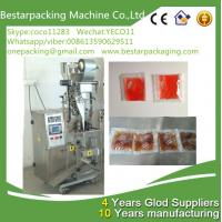 China Small sachet 1-50ml ketchup packing machine,ketchup vertical packaging machine wholesale