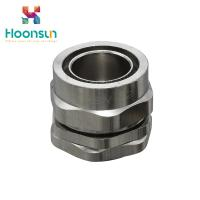 China ExplosionProof BW Series Nickel Plated Brass Cable Gland Use In Armoured Cable wholesale
