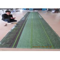 China Outdoor / Indoor PVC Vinyl Banners With Velcro Hanger Uv Ink Printing wholesale