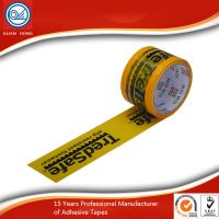 China Clear BOPP Self adhesive tape Jumbo Roll with custom logo printed wholesale