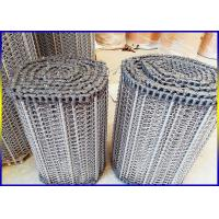 Buy cheap Food Grade Stainless Steel Conveyor Belt Argon Welding Strong Corrosion Resistance from wholesalers