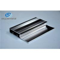 China 6463-T5 Polishing Aluminum Extrusion Profiles Products With Silver Color wholesale