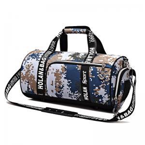 China Male / Female Customized Leisure Travel Bag Hand Held Large Capacity For Luggage Exercise Storage wholesale