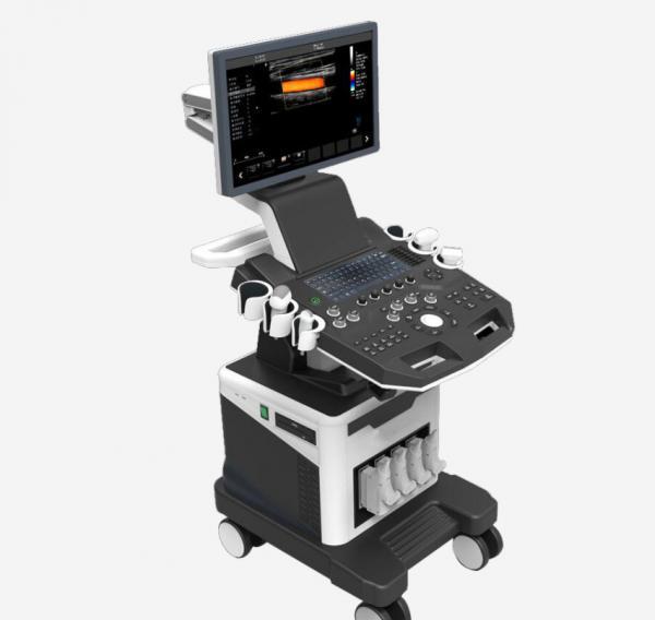 Quality Windows Embedded OS medical Trolley Ultrasound Scanner Machine system for sale