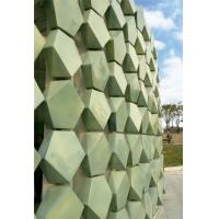 Quality Custom Made Shape Terracotta Facade Panels , External Rainscreen Cladding for sale