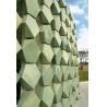 Buy cheap Custom Made Shape Terracotta Facade Panels , External Rainscreen Cladding from wholesalers