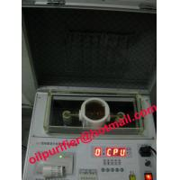 China Transformer oil tester, insulating oil test kit, testing breakdown voltage on sale