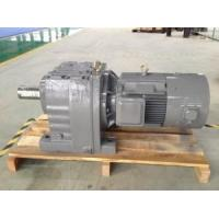 China in-Line Foot Mounted Helical Gear Box/ Reducer/ Gear Motor /Geared Motors (R27~R167) wholesale
