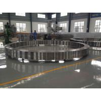 Quality Forged Steel Ring Flange DIN ASTM A388 EN For Wind Power Industrial , OD 7000mm for sale