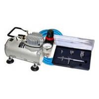 China Professional Airbrush Tattoo Kit Machine with Single Cylinder Piston Air Compressor 1/6HP wholesale