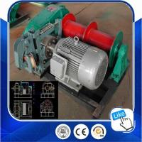 China JM Series Wire Rope Electric Boat Anchor Winch on sale