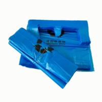 China Blue Medical Biohazard Waste Bags Flat Opening For Garbage Packaging ISO14001 wholesale