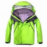 China Children's Outdoor Jacket in Light Green wholesale