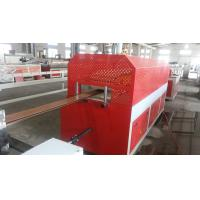 China Semi Automatic Plastic Sheet Extrusion Line For WPC Door / Windowsill Board wholesale