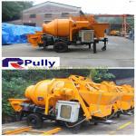 China Pully JBT40-P1 hydraulic trailer concrete mixer pump, concrete pump mixer, concrete pump wholesale