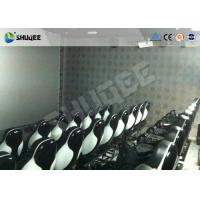 China Commercial Park 5D Movie Theater With Portable Cabin / 3D Glasses wholesale