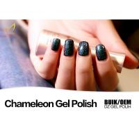 Buy cheap No Smell UV & LED Chameleon Nail Varnish , Colour Changing Nail Polish Gel Quick Dry from wholesalers