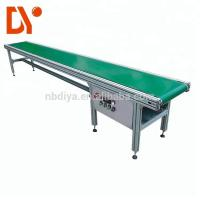 China Double Face Belt Conveyor Belt System DY90 Green Rubber Plastic With Aluminum Alloy on sale