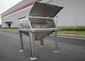 China Stainless Steel 2000 Bag/H 0.1um Bag Dump Stations wholesale