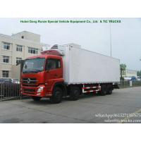 China DONGFENG  Refrigerated Freezer Truck  Reefer Truck  Frozen Food 340HP cummins WhatsApp:8615271357675 wholesale