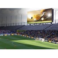 China IP65/IP54 Perimeter Led Screen , P10 SMD3535 Football Stadium Advertising Boards wholesale