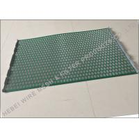 China Hookstrip Flat Rock Shaker Screen For Model 2000 Shale Shaker Solids Control System wholesale