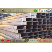China Decorate Seamless Rectangular Steel Tube ASTM A53 Pre Galvanized wholesale