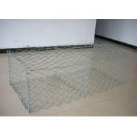 China Galvanized PVC Coated Gabion Wire Mesh Basket Double Twist Hexagonal wholesale