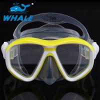 China Detachable Ornamental Pieces Liquid Silicone Diving Mask Double-skirt and Strap wholesale