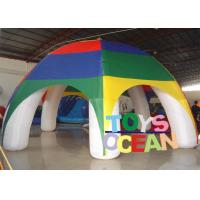 China 1 Years Warranty PVC Durable Inflatable Tents For Outdoor Activity / Event wholesale