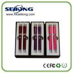 China Evod starter Electronic cigarette Double kit Kanger Evod eGo E Cigarette kit Gift Box wholesale