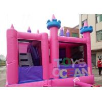 Colourful Inflatable Bouncer Jumping Funny Castle Combo For Kids Amusement