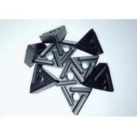 Buy cheap RNK7125 Triangle Carbide Inserts , Carbide Cutting Tnmg Insert Black Color from wholesalers