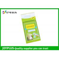 China JOYPLUS Microfiber Cleaning Products Microfiber Glass And Mirror Cloth 200GSM wholesale