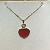 China Chopard  diamonds of  love  necklace 18kt gold  with yellow gold or white gold wholesale