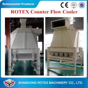 Quality High Efficiency Counter flow cooler , wood pellet cooler for Biomass wood pellet plant for sale