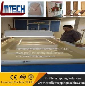 China Vacuum membrane press machine working wholesale