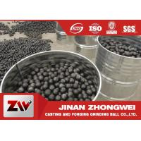 Quality High Chrome high hardness Cast Iron Balls for Cement Plant Ball Mill for sale