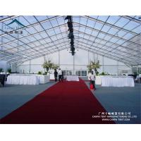 China 1500 People Transparent PVC Coated Clear Event Tent Easy To Install And Dismantle wholesale