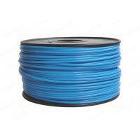 China Blue Round 3MM PLA Filament Rapid Prototyping For Cubify UP , 3D Printer Filament wholesale