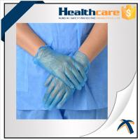 China AQL1.5 PVC Disposable Hand Gloves ,  Powder Free Vinyl Medical Gloves wholesale