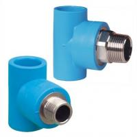 China PE Pipe Fittings: Male Thread Tee (Soc x Mipt with Brass Thread Insert) wholesale