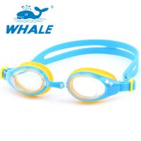 China Customized Silicone Swimming Goggles Sturdy One - Piece Structure For Children wholesale
