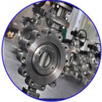 Quality Triple Eccentric API609 Butterfly Valve EPDM Seat 150lb Pressure , Lug Type for sale