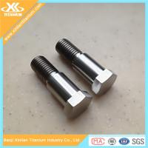 China Gr2 and Gr5 DIN931 Half Thread Titanium Hex Head Bolts on sale